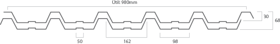 Telhas Isotérmicas e Termoacusticas T40xT40 Predial